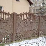 Облаштування ділянки бетонною продукцією — парканами